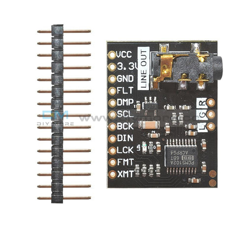 I2S Pcm5102 Dac Decoder 32Bit Player Module Than Es9023 Pcm1794 For Raspberry Pi Board