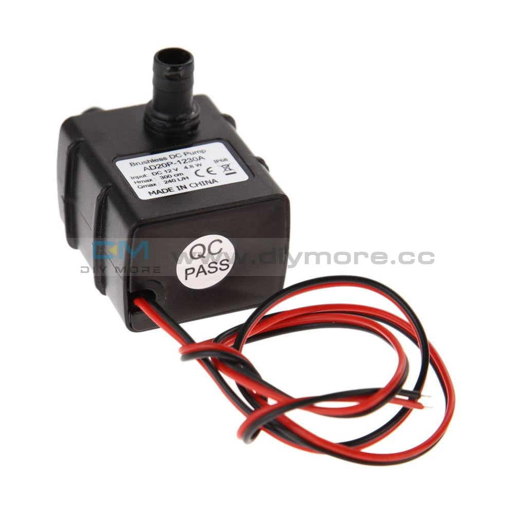 Dc12V 3M 240L/h Ultra Quiet Brushless Motor Submersible Pool Water Pump Solar Driver Module