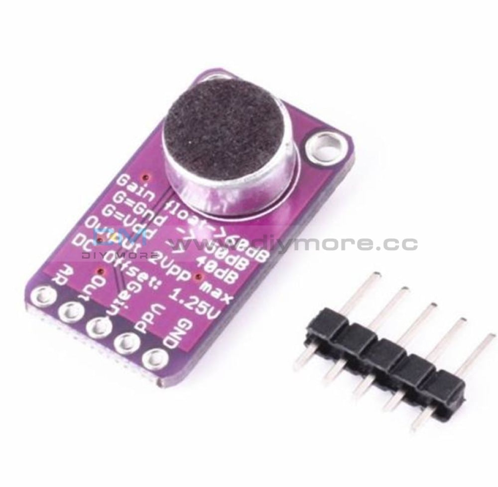 Max9814 Electret Microphone Amplifier Module Agc Auto Gain Control For Arduino M Board