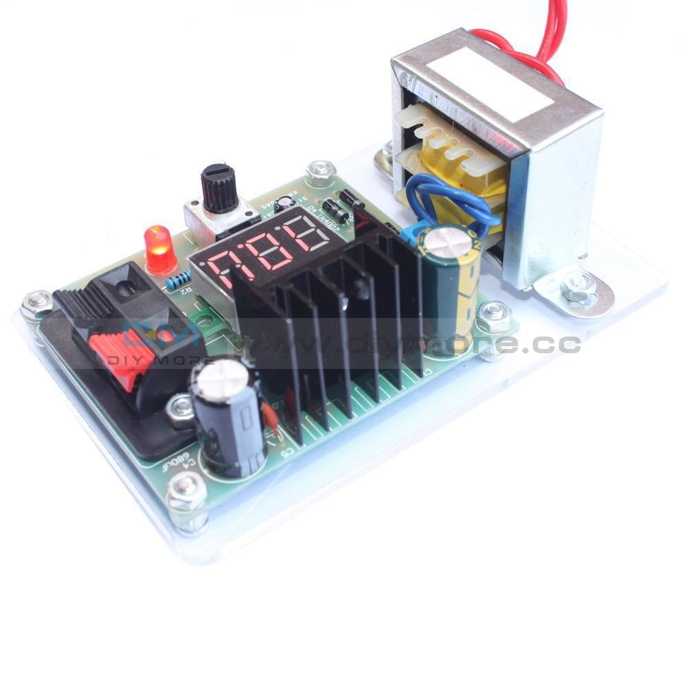 Continuously Adjustable Regulated Dc Power Supply Diy Kit Lm317 1.25-12V Module