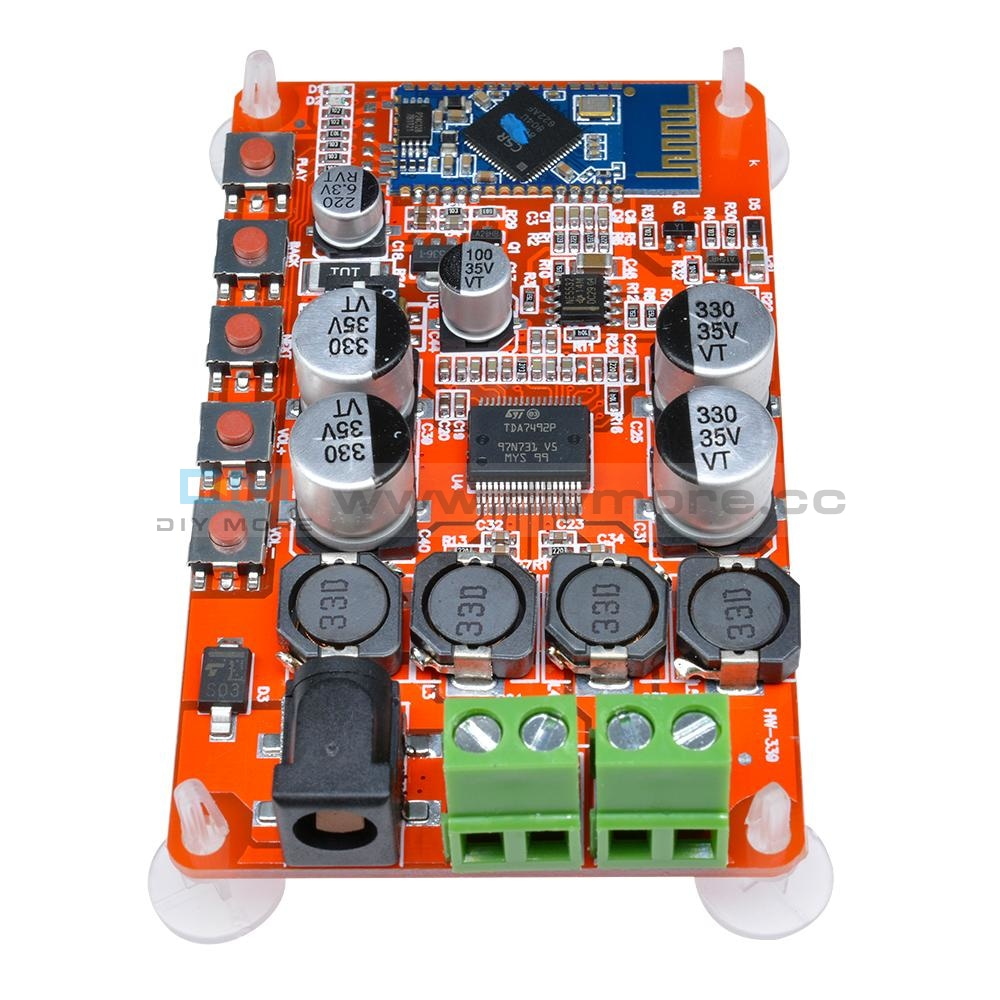 50W + Tda7492P 2X50 Watt Dual Channel Amplifier Wireless Digital Bluetooth 4.0 Audio Receiver Board