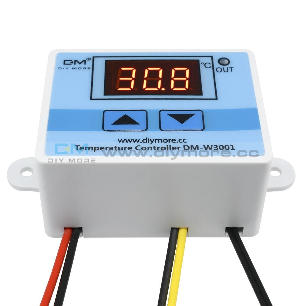 Dc12V W1209Wk Digital Thermostat Temperature Control -50-110°C With Ntc Waterproof Sensor Probe