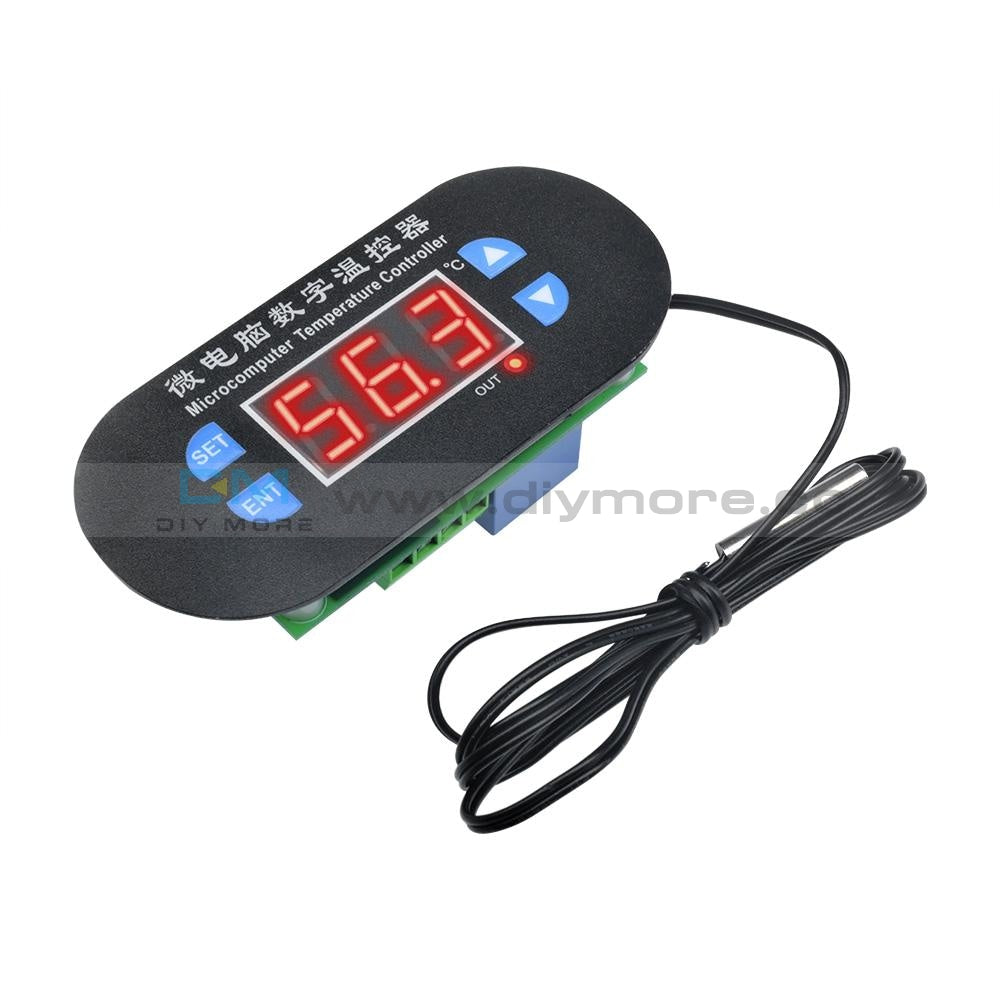 W1308 Temperature Controller Heat Cool Dc 12V Thermostat Sensor Digital Led