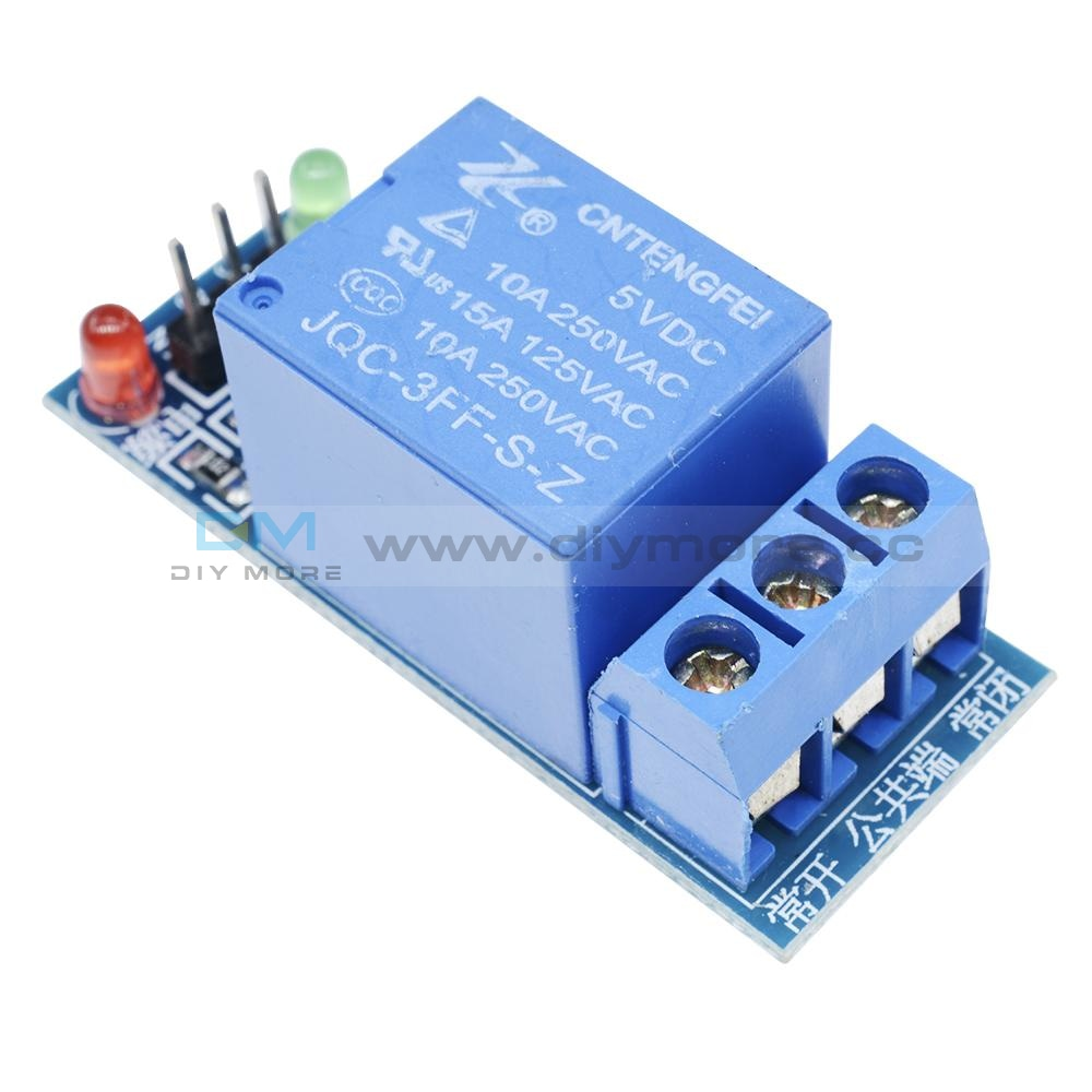 1 Channel 5V Relay Module Shield For Arduino Uno Meage 2560 1280 Arm Pic Avr Dsp 1-Channel Delay