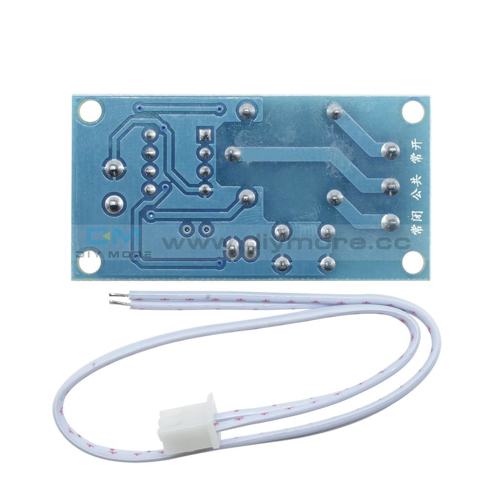 12V 1 Channel Latching Relay Module With Touch Bistable Switch Mcu Control 1-Channel Delay