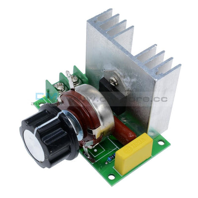 4000W Ac 220V Scr Voltage Regulator Speed Controller Dimmer Thermostat Module Motor