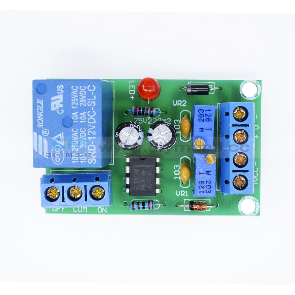 12V Smart Charger Power Control Board Storage Battery Charging Controller Module Interface