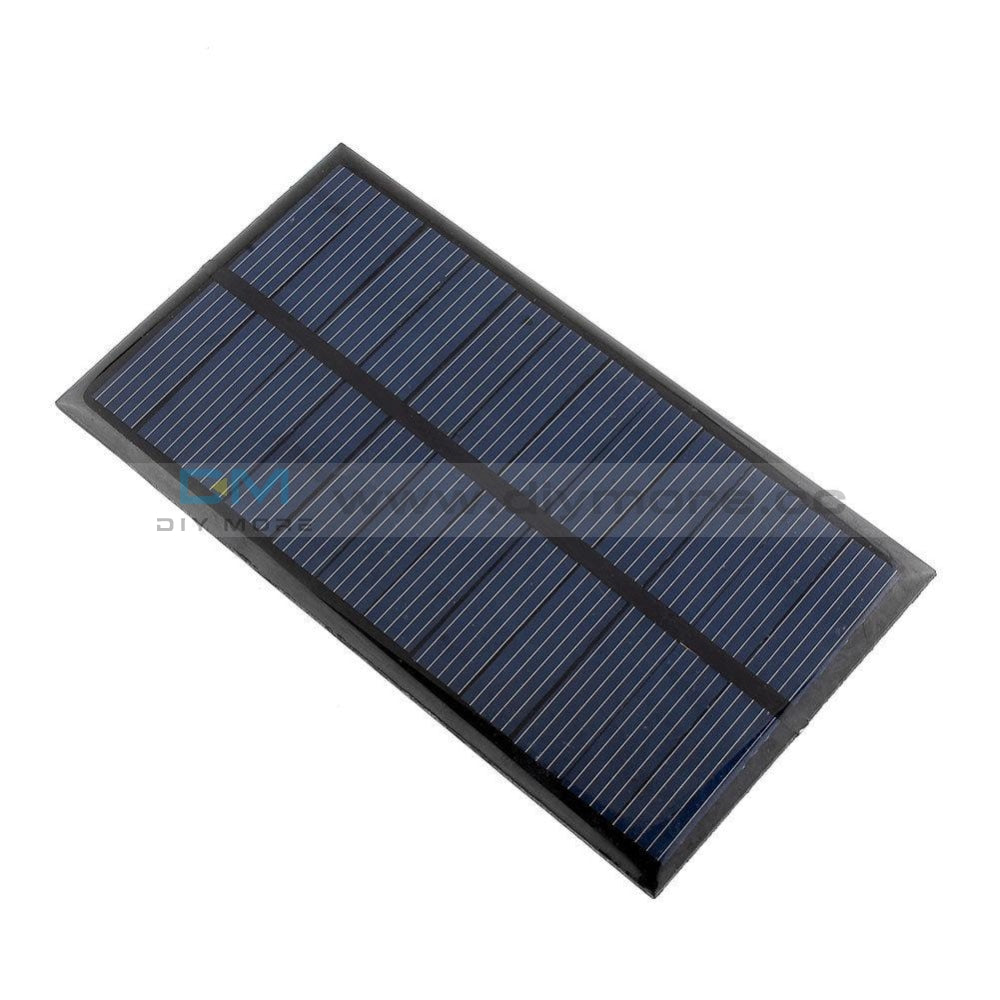 6V 1W Solar Panel Module Diy For Light Battery Cell Phone Toys Chargers Power