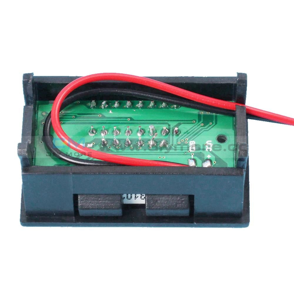 12V Acid Lead Battery Capacity Indicator Charge Level Led Tester Red Voltmeter Display Module