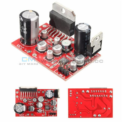 Diymore Tda7379 38W+38W Stereo Amplifier Board Dc 12V W/ad828 Preamp Super Than Ne5532 Amplifiers