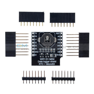 Micro Sd Wemos D1 Mini Data Logger Shield+Rtc Ds1307 Clock For Arduino/raspberry Module