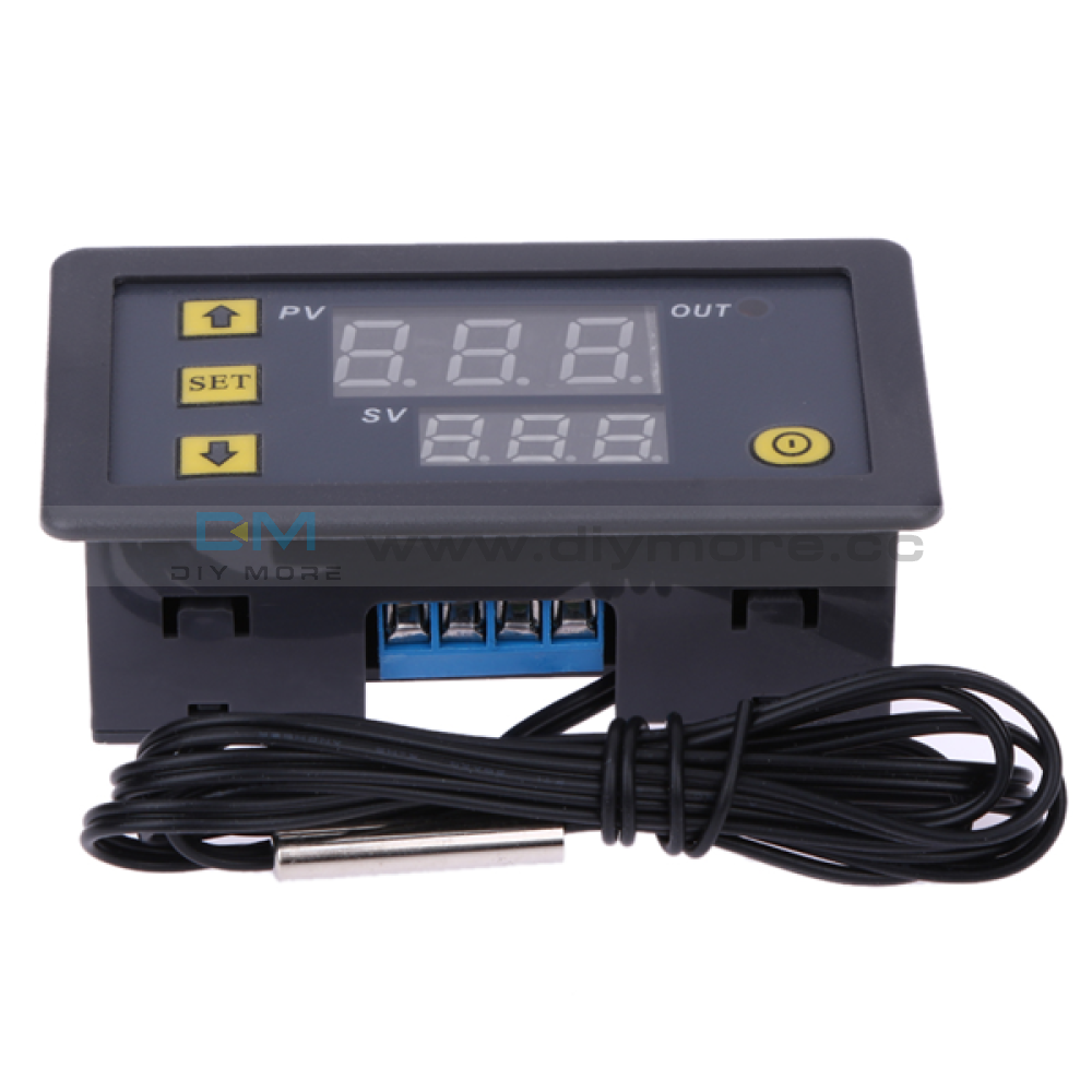W3230 Led Digital Thermostat Temperature Controller Dc 12V/24V Ac 110V 220V 20A High Precision