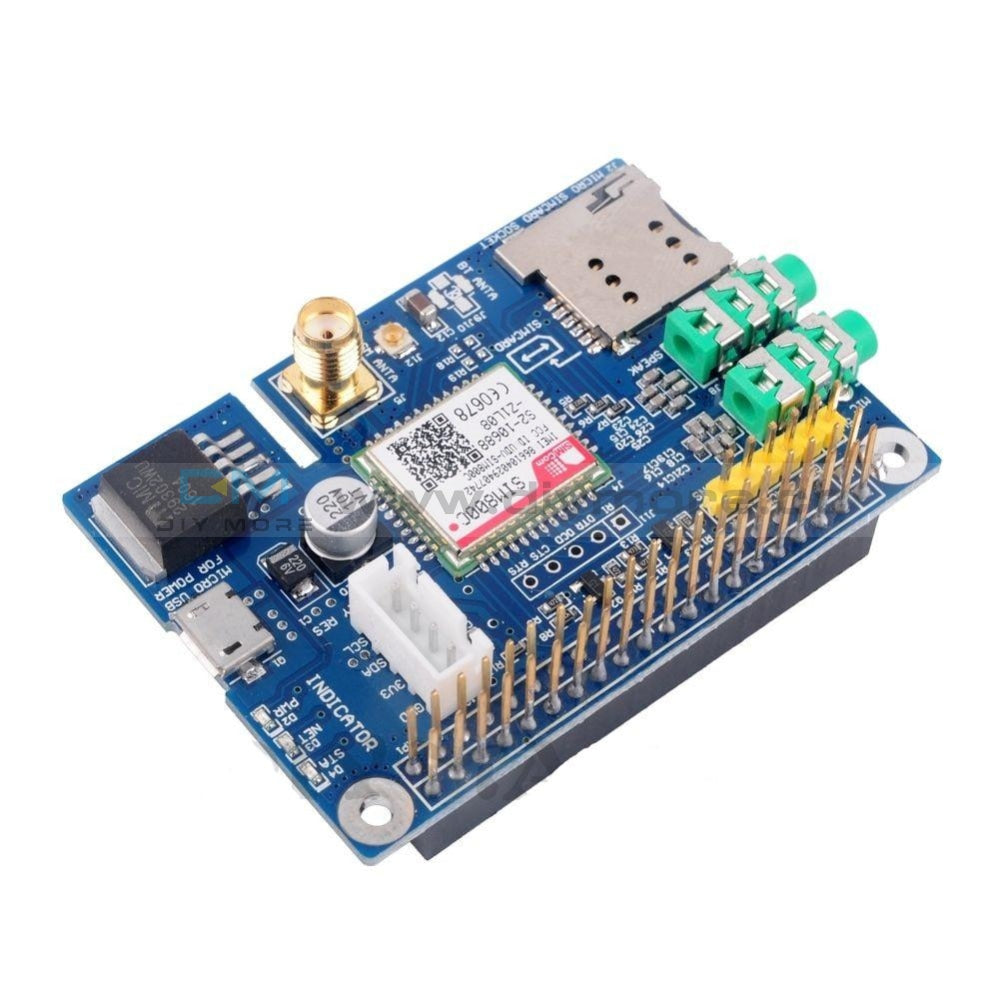 Sim800C Development Board Gprs Gsm Module With Antenna For Raspberrp Pi Gps/gprs