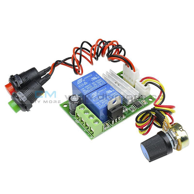 6V-24V 3A Dc Motor Speed Control Controller Pwm Regulator Reversible Switch