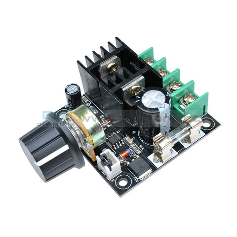 10A Motor Speed Controller Module Pwm Dc 12V-40V Variable Volt Regulator Cooling Fans Dimmer