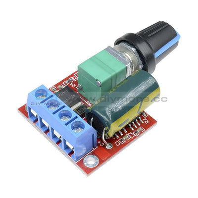 Dc 5V 6V 9V 12V 24V 5A Pwm Motor Speed Controller Regulator Switch Led Dimmer
