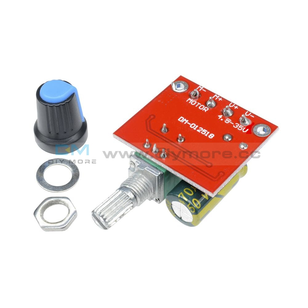 Lm2596 Step-Down Buck Power Converter Dc 4.0~40 To 1.3-37V Voltmeter Module Step Down