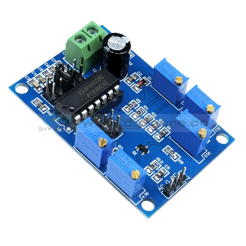 Icl8038 Low/medium Frequency Signal Source Waveform Sine Generator Module Interface