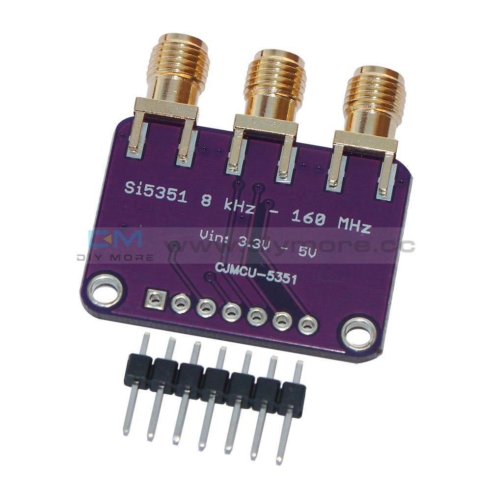 Si5351A I2C 25Mhz Clock Generator Breakout Board 8Khz To 160Mhz For Arduino Module