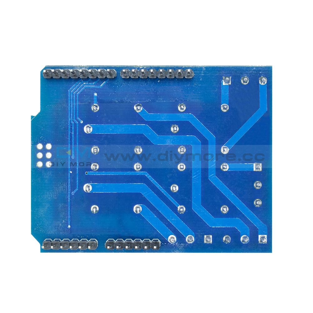 Dc 5V 4 Channel Relay Shield Terminal Expended Board For Arduino 4-Channel Delay