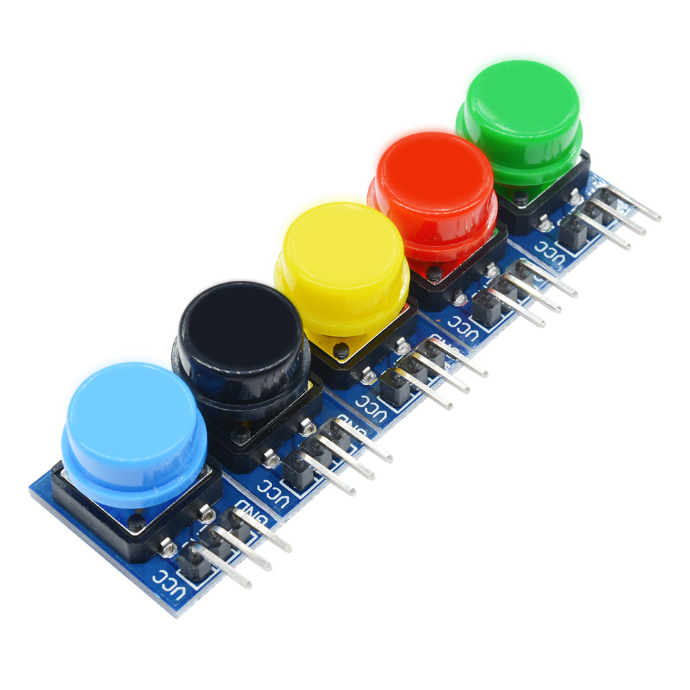 5pcs Big Key Button Light Hat Output Module Touch Switch 12x12mm Arduino