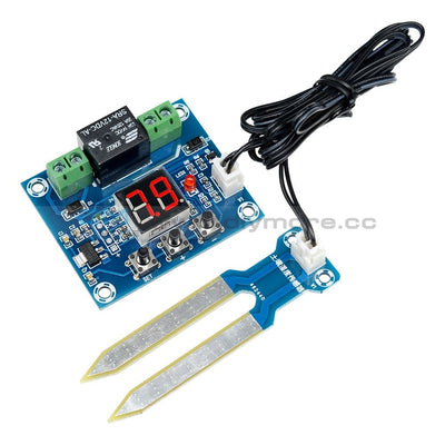 Xh-M214 Humidity Controller Soil Sensor Automatic Irrigation Dc12V Led Module Temperature