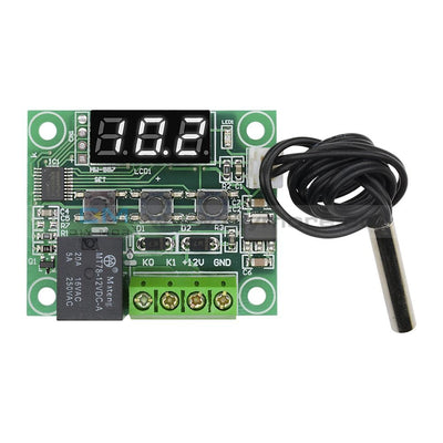 W1209 Led Digital Thermostat Controller Temperature Temp Control Switch Module Board 12V Dc