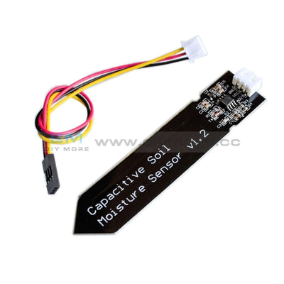 Capacitive Soil Moisture Sensor V1.2 Analog Corrosion Resistant Dc 3.3-5.5V Temperature Humidity
