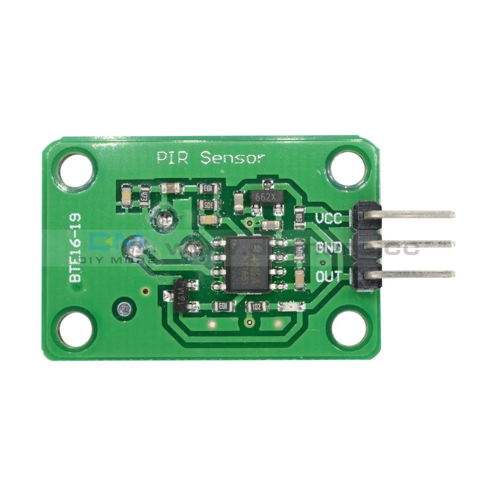 Pyroelectric Infrared Sensor Human Body Detecting Pir Motion Module For Arduino Mcu Board 120 Degree