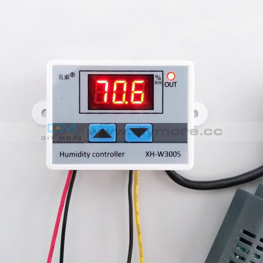 Xh-W3005 Dc 12V 120W Led Digital Humidity Controller Sensor Hygrometer Switch Dc12V Temperature