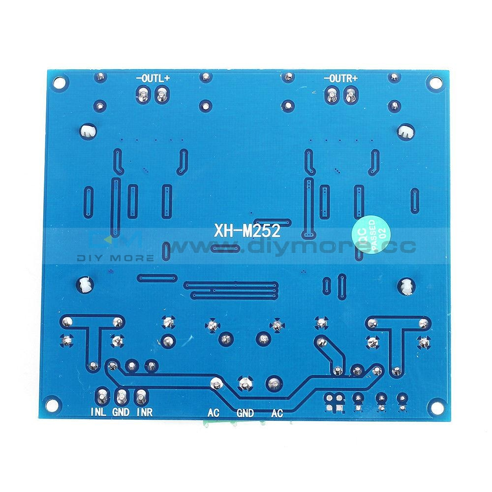 Ac 24V 2X420W Dual Double 420W Chip Stereo Tda8954Th Class D Digital Audio Hifi Amplifier Board