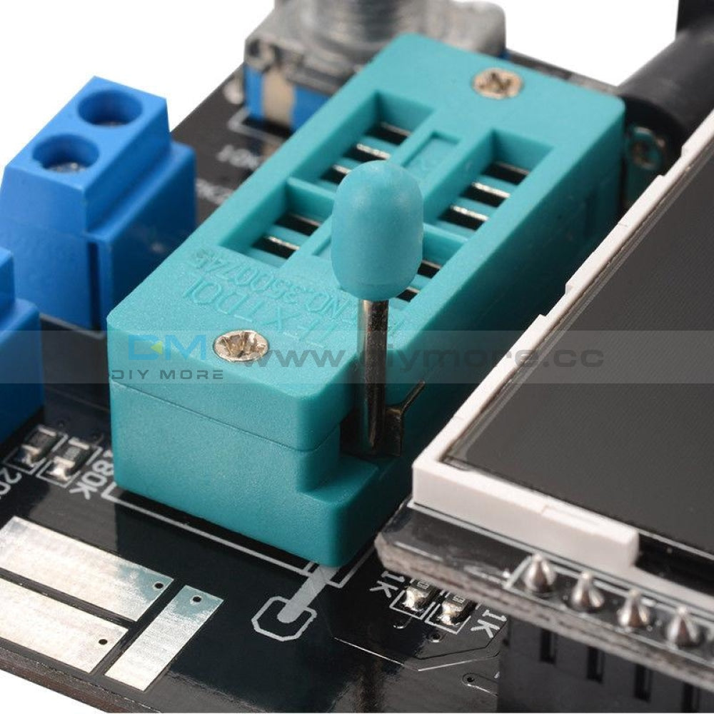 Gm328A Transistor Tester Diode Esr Voltage Frequency Lcr Meter Russian/english Version Pwm Square