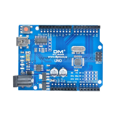 Atmega328P Ch340G Uno R3 Board Mini Usb Compatible With Arduino Motherboard