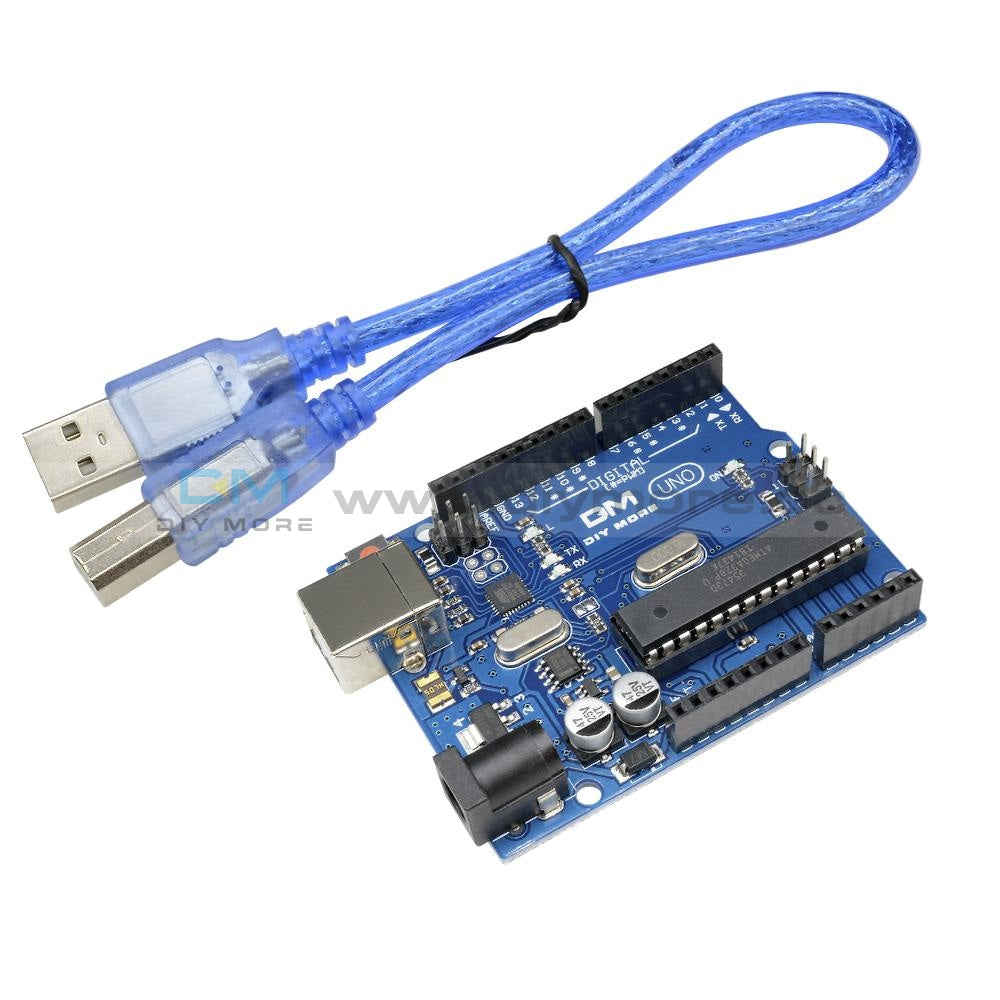 Uno R3 Atmega328P Atmega16U2 Development Board Compatible For Arduino With Usb Cable Motherboard