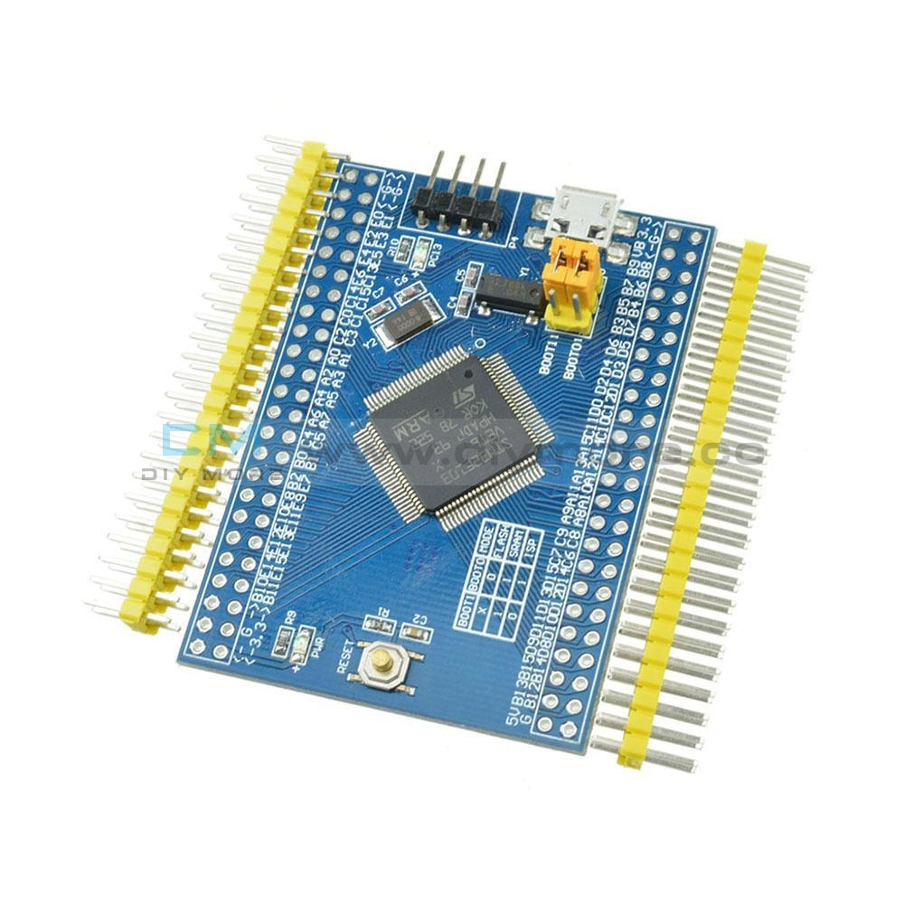 New Stm32F103Vet6 Arm Stm32 Minimum System Development Board Cortex-M3 Iic Eeprom Rtc Crystal Sdio