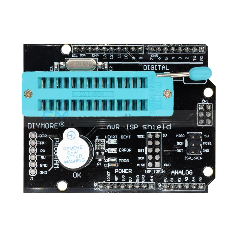 Avr Isp Shield Burning Burn Bootloader Programmer For Arduino Uno R3 Drive Expansion Board
