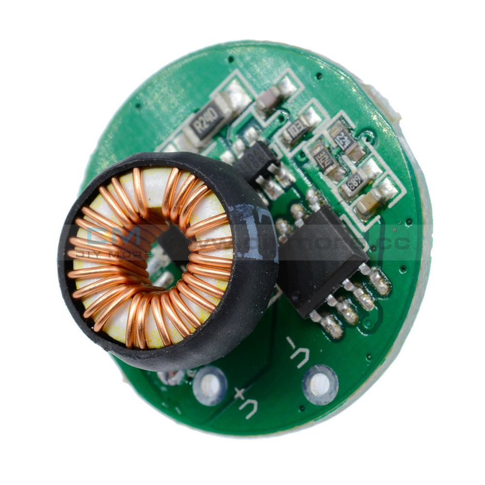 10W 3-12V 20Mm With Switch Flashlight Driver Board T6/u2 Xm-L2/u2 Led Drive Expansion Board