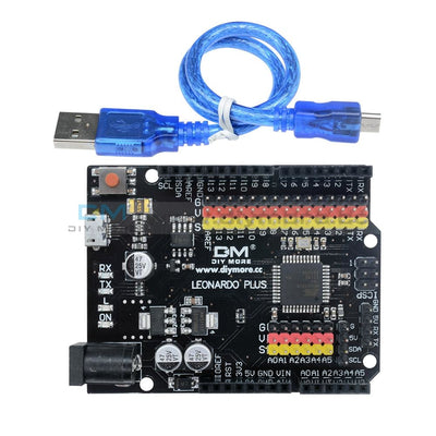 Leonardo R3 Plus Development Board Pro Micro Atmega32U4 5V 16Mhz Module With Usb Cable Compatible