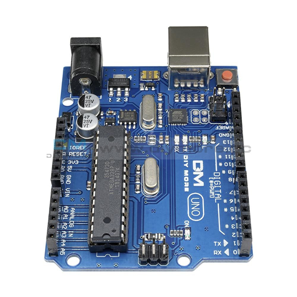 Atmega16U2 Atmega328P Isp Development Board Uno R3 Compatible Motherboard