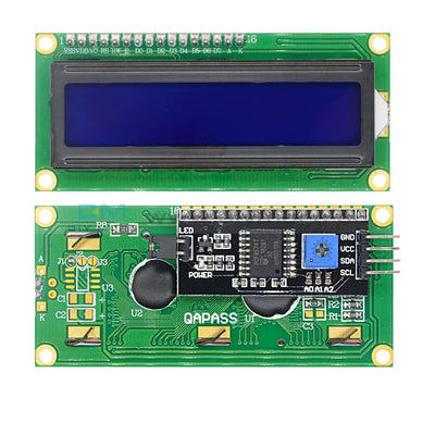 1602 16X2 Lcd Iic/i2C/twi/spi Serial Interface Module Display Blue/yellow