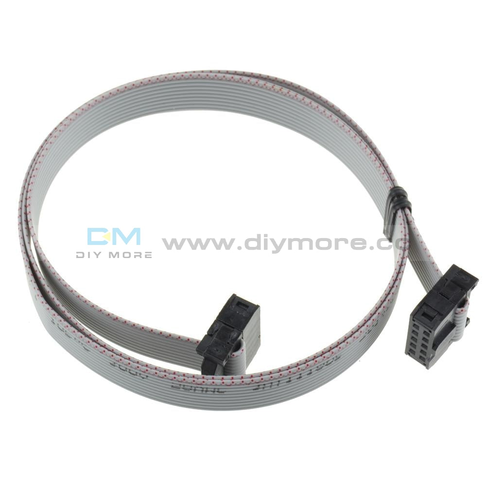 70Cm 10Pin Usbisp Usbasp Jtag Avr Download Wire 10P Ribbon Cable Tools