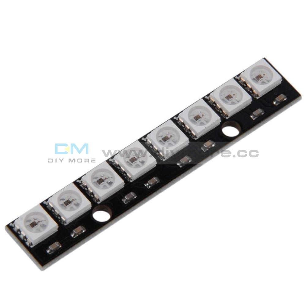 Black 8 Channel Ws2812 5050 Rgb Leds Light Strip Driver Board For Arduino Led Display Module