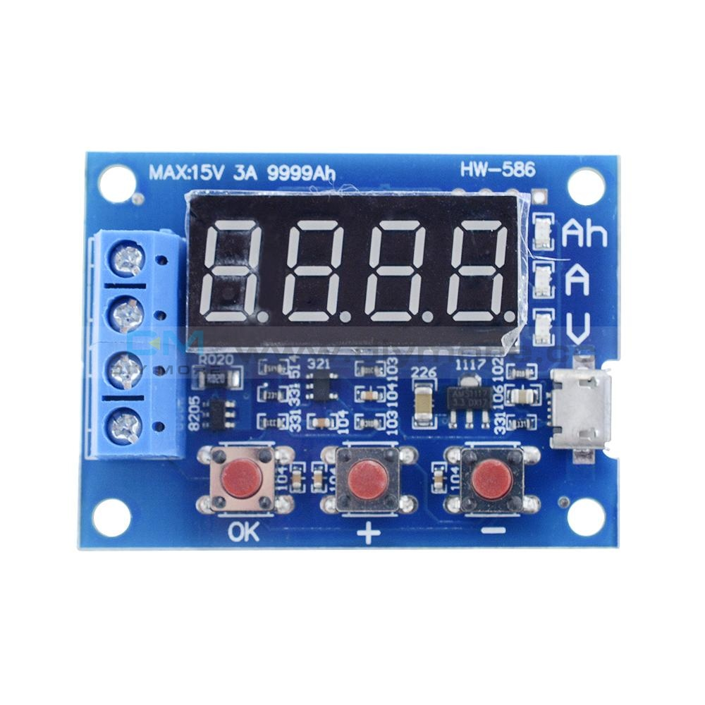 18650 Li-Ion Lithium Lead-Acid Battery Capacity Meter Discharge Tester Hw-586 Testers