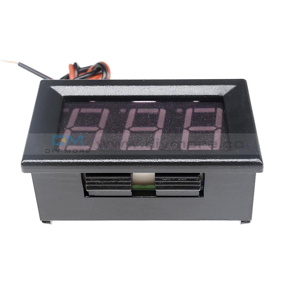0.56 Dc5-30V Voltmeter Led Panel Three Digital Display Volt Voltage Meter Red/green/blue Testers