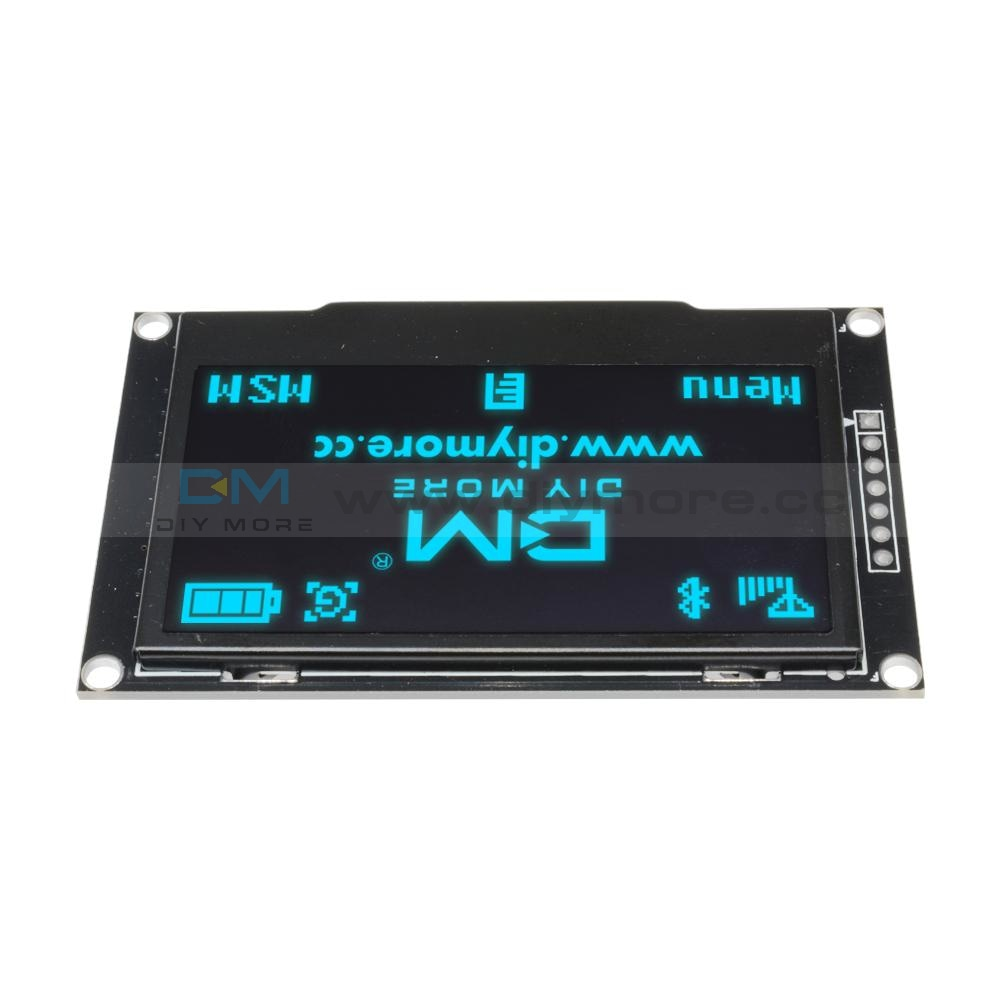 2.42 Inch 12864 Oled Display Module Iic I2C Spi Serial For Arduino C51 Stm32 Green/white/blue/yellow