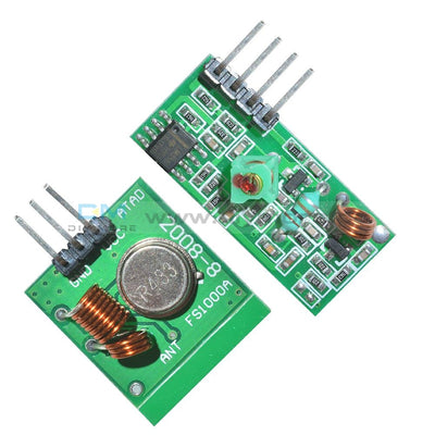 433Mhz Rf Transmitter And Receiver Link Kit For Arduino/arm/mcu Remote Rfid Module
