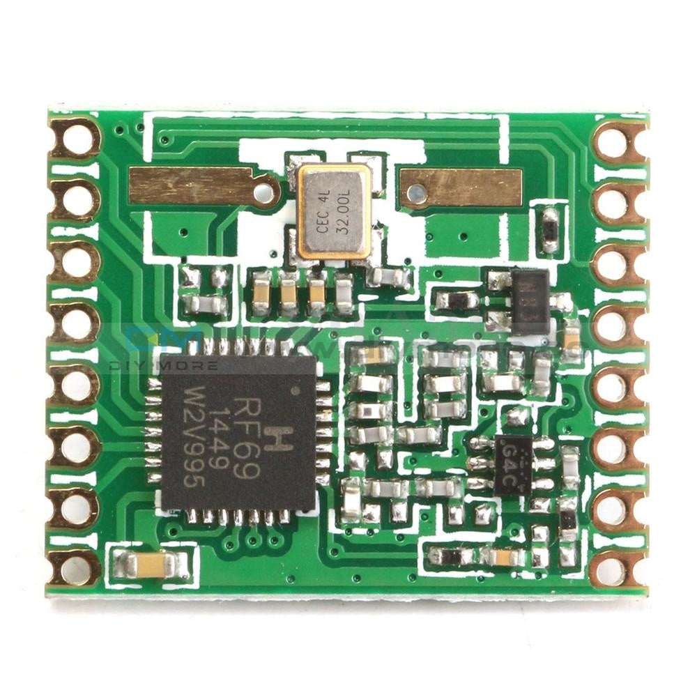 Rfm69Hw 868Mhz Hoperf Wireless Transceiver (Rfm69Hw-868S2) For Remote/hm Wifi Module