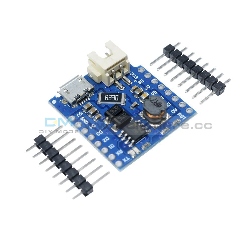 Battery Shield For Wemos D1 Mini Single Lithium Charging & Boost Drive Expansion Board