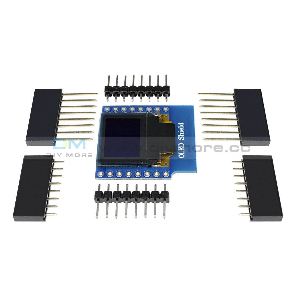 """Details about  /OLED Shield for WeMos D1 mini 0.66/"""" inch 64X48 IIC I2C for Arduino CompatiblODh$"""