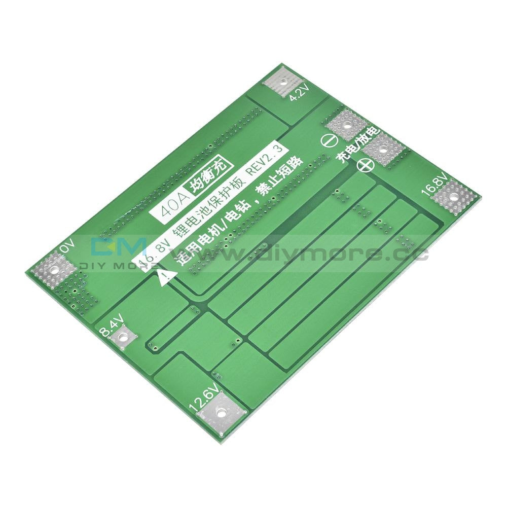 3S 60A/30A 4S 40A Li-Ion Lithium Battery Charger Protection Board Bms 3S/4S For Drill Motor 16.8V